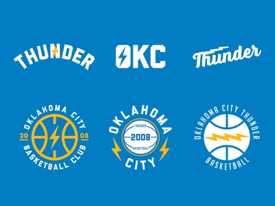 Thunder Up oklahoma city lightning basketball logo nba oklahoma okc thunder