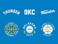 Thunder Up oklahoma city lightning basketball logo nba oklahoma okc thunder