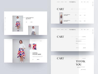 Vavrova ⏤ Product Detail & Inquire product showcase product detail website design website web design webdesign web modern modeling minimal fashion design fashion dresses clean