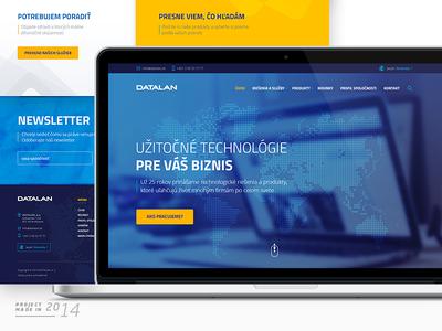 DATALAN Website Concept / 2014