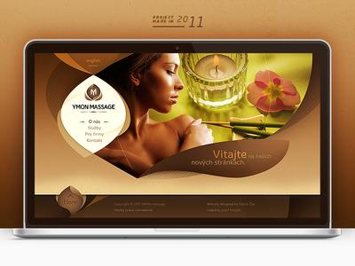 Ymon Massages Website / 2011