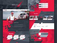 Drift Team Website / 2014