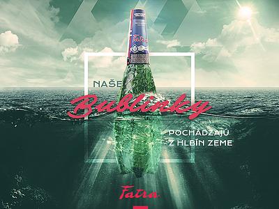 FATRA facebook post #07 product sky ocean sea water mineral green fatra crystals bottle