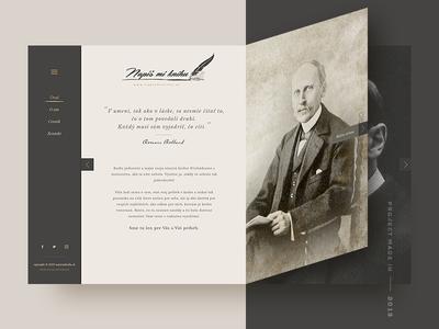Write me a Book — Website 2013 writing book webdesign web ux ui brown 2013