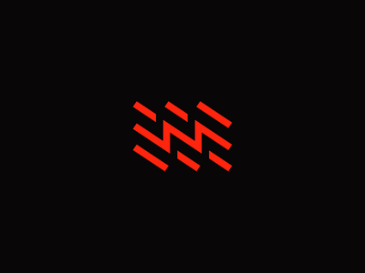 B Sides / Angled electric ray flash brand titorama titofolio logo angled