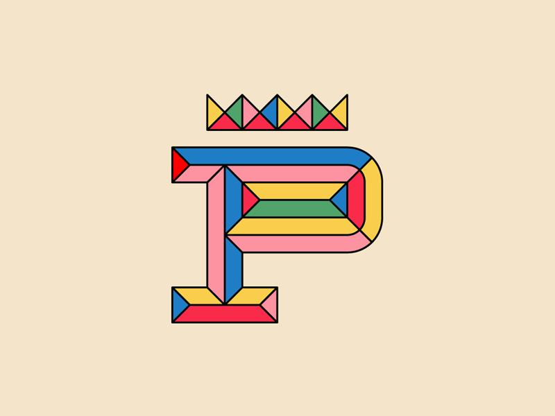 P letter lettering p titofolio titorama