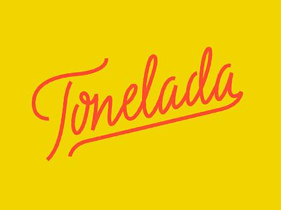 Tone 02 coffee lettering logo titofolio titorama tone tonelada