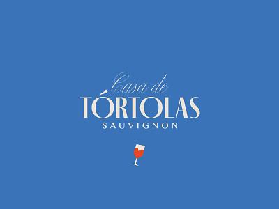 Casa de Tórtolas / Wine méxico sauvignon logo logotype bird tórtolas casa wine label