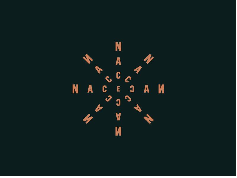 NacecaN agave titofolio wordmark mark brand logo logotipo branding
