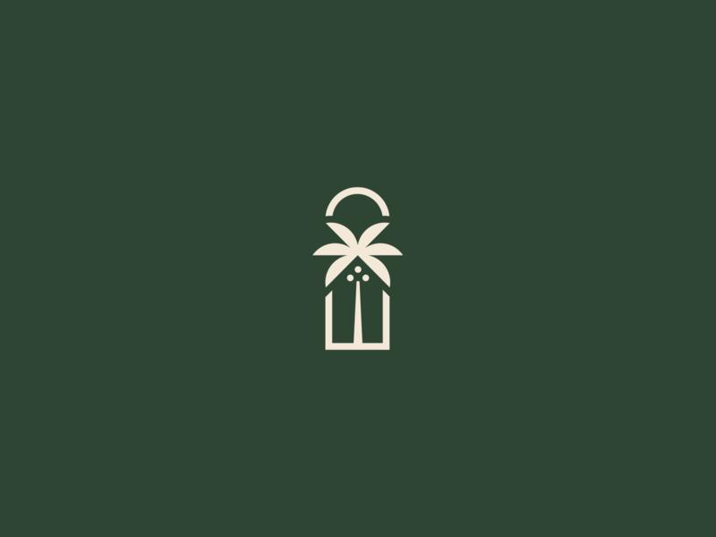 Tropical hotel symbol beach palm house titofolio mexico hotel symbol tropic tropical