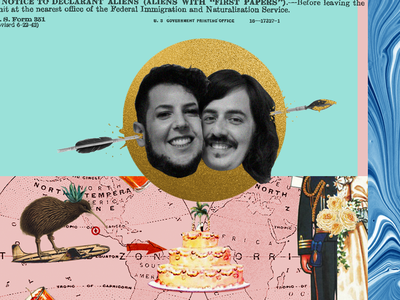 Vic&lucy wedding cross moodboard mexico new zealand illustration titorama graphic graphicdesign wedding weddings collages