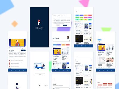 MickLearn appsdesign designer apps design background uiux designer user experience user interface ui  ux ui design