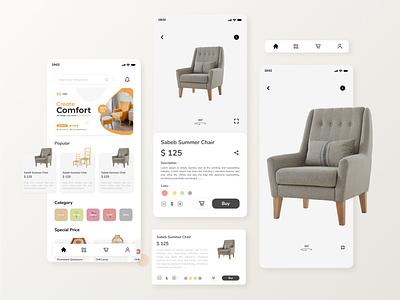 Furniture Mobile Apps - Exploration design mobile design user experience uiux ui designer ui mobile app branding design ui user interface furniture mobile apps furniture user interface