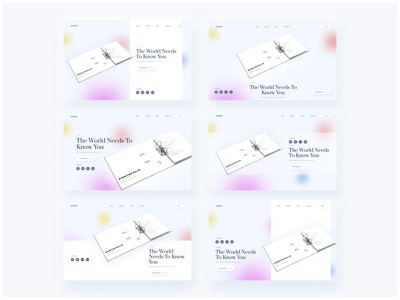 Stories Landing Page Variant - Exploration user interface design article landing page story user interface designer ideas uiux designer ui design website landing page