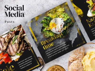 Social Media Post Instagram. Templates. restaurant marketing agency marketing graphicdesign grpa psd download psd template psd company ads banner ads banners banner design banner ad social media design social network socialmedia media banner social