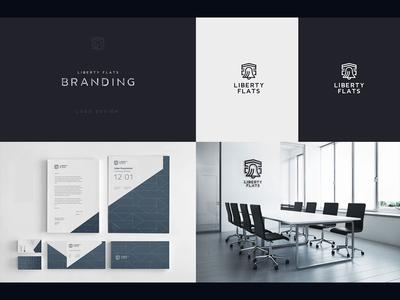 Logo Liberty Flats / Branding