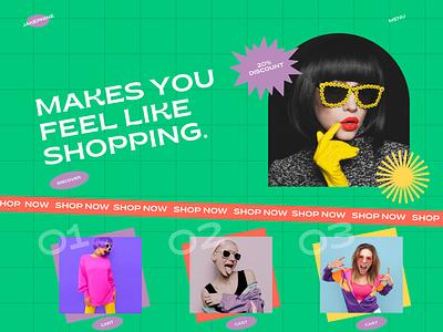 Jakephine Online Shop landing page online store uiux web design website design web ui fashion fashion app fashion shop e-commerce app online shop e-commerce shop e-commerce design