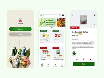 Grocery App grocery app mobileapp grocery branding designgraphic uxdesign uidesign ux ui