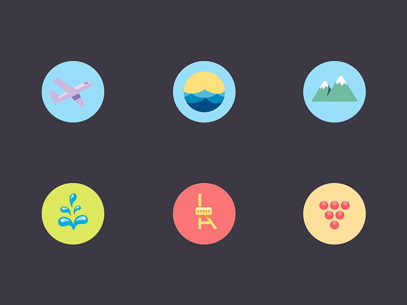 Map Icons By Nick Kumbari