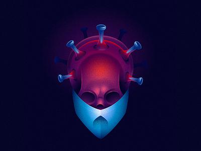 Virus 36dayoftype cell bacteria icon vector illustration covid19 virus