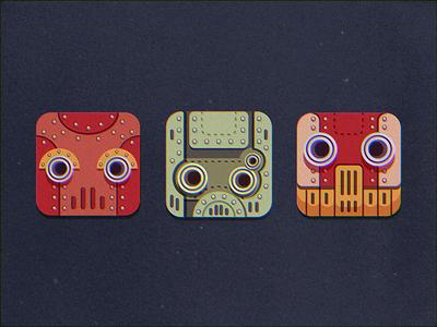 Masks Robots