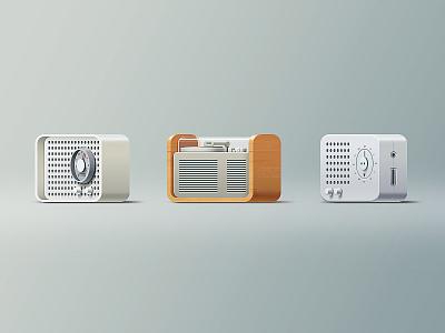 Icons dieter rams icons stereo radio turntable hi-fi icon minimal simple