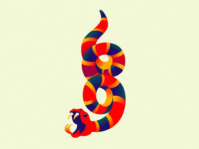 Ophidiophobia fear stripes symbol 69 illustration snake