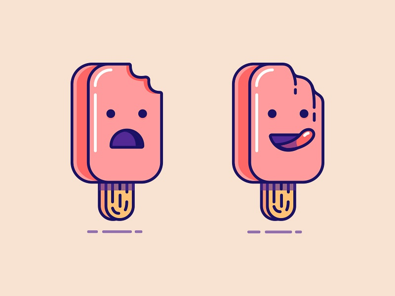 ice-creams ice cream ice-cream icon illustration funny