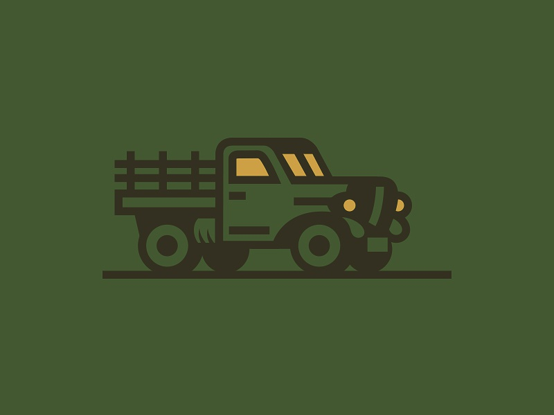 Trrruck road wheel car illustration truck