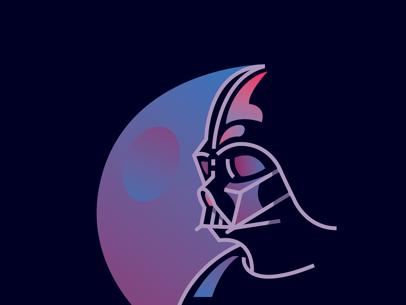 Darth Vader vader darth character illustration game battlefront wars star