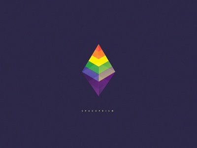 Spaceprismmm rhombus symbol illustration mark prism