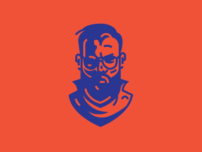Selfie 3.2 angry symbol avatar mark illustration selfie portrait