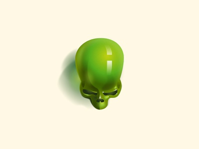 Skulljelly try jelly layout illustration vanitas daily poster skull