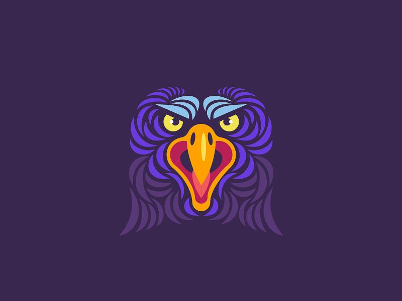 Eagle angry t-shirt mark bird animal illustration eagle