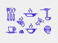Taste icons