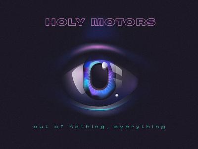 Eye motors holy gradients zero eye visual illustration