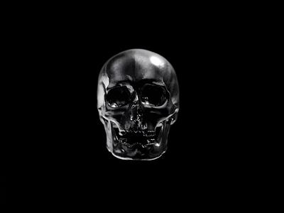 M Y T H illustration scull particles motion design design head monster c4d render 3d