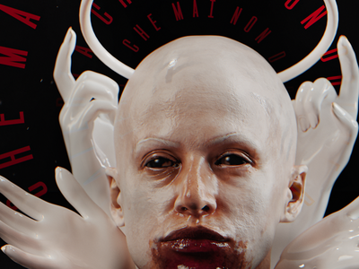 S I N redshift3d design illustration freak monster c4d render 3d