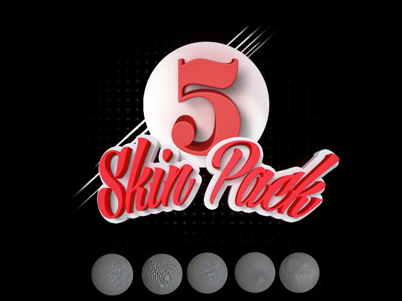5 Skin brush pack ZBrush vol 1 by Leonid Nikolaev on Dribbble