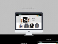 Behance   e commerce fullpage