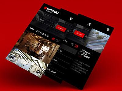Architecture Website Design webdesign mobile responsive interface website architecture