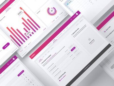 Fintech Web Application finance payment pay guideline product design product uiux buttons design system actions statistics drag and drop dashboard bankapp application website webapp bank banking fintech