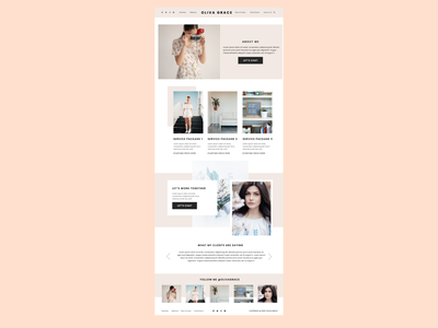 Website web design