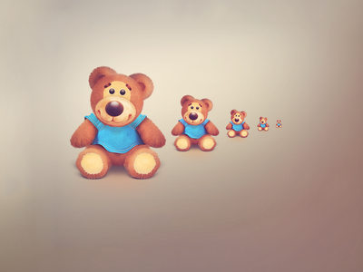 Teddy bear icons icon animal teddy bear cute furry