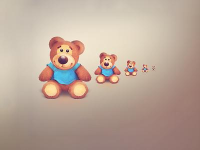 Teddy bear icons icon animal teddy bear cute furry