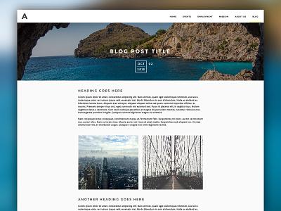 Blog Post Template website simple template web blog