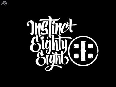 Instinct88 i88 instincteightyeight branding logo