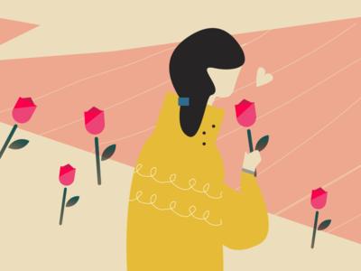 Illustration for Ribitt - Fields of Roses