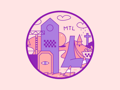 Dribbble Weekly-WarmUp MTL sticker