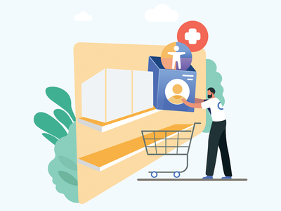 Drive sales Illustration
